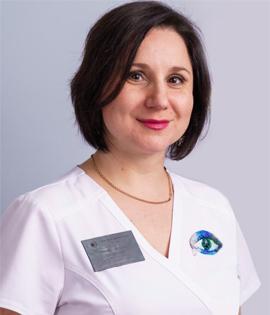 Пестрякова Яна Феликсовна - офтальмолог
