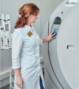 Врач-рентгенолог клиники «МедЭксперт» Екатерина Рощина